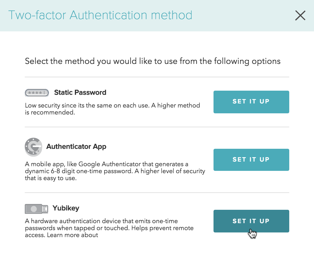 Setting Up a YubiKey for Two-factor Authentication (2FA) – Kraken